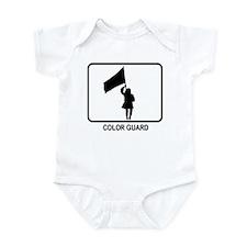 Color Guard (white) Infant Bodysuit