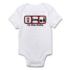 Eat, Sleep, Bowling Infant Bodysuit