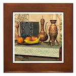 Bride's Gold Framed Tile
