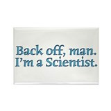 I'm A Scientist Quote Rectangle Magnet (100 pack)