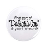 "Cute Palliative care 3.5"" Button (100 pack)"