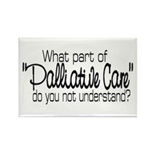 Cute Palliative care Rectangle Magnet