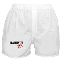 Off Duty Headhunter Boxer Shorts