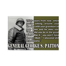 Patton Rectangle Magnet (10 pack)