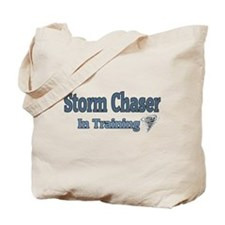Storm Chaser In Training Tote Bag