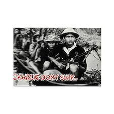 Charlie Don't Surf Rectangle Magnet (100 pack)