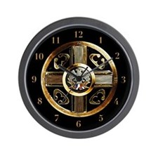 Unique Serbian Wall Clock