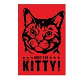 Obey the Kitty! Postcards (Package of 8)
