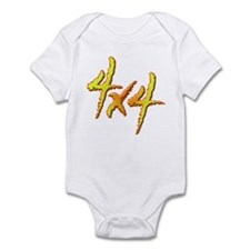 4x4 Fire Infant Bodysuit