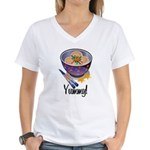 Yummy Dumpling Women's V-Neck T-Shirt