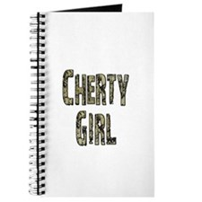 Cherty Girl Shovel Bum Journal
