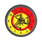 Sicilian Trinacria Wall Clock