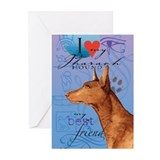 Pharaoh Hound Greeting Cards (Pk of 10)