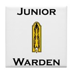 Junior Warden Tile Coaster