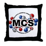 MCS Throw Pillow
