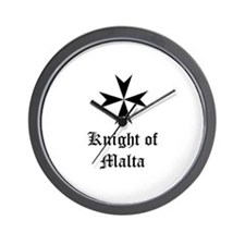 Knight of Malta Wall Clock