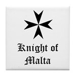 Knight of Malta Tile Coaster
