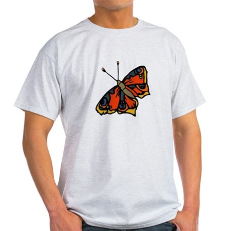 Orange Butterfly Light T-Shirt