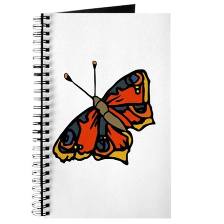 Orange Butterfly Journal