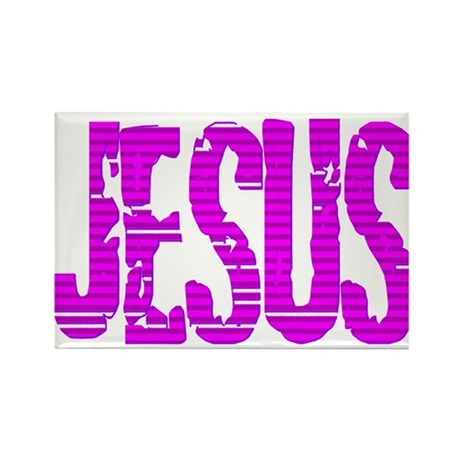 Jesus Rectangle Magnet (100 pack)