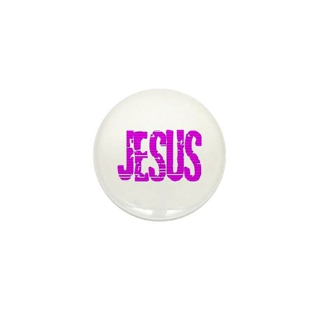 Jesus Mini Button