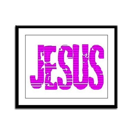 Jesus Framed Panel Print