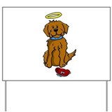 Doggie - Angel - Yard Sign