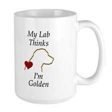 My (Golden) Lab... Mug