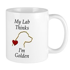 My (Golden) Lab... Coffee Mug