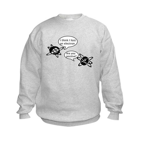 Atoms & Electrons Kids Sweatshirt