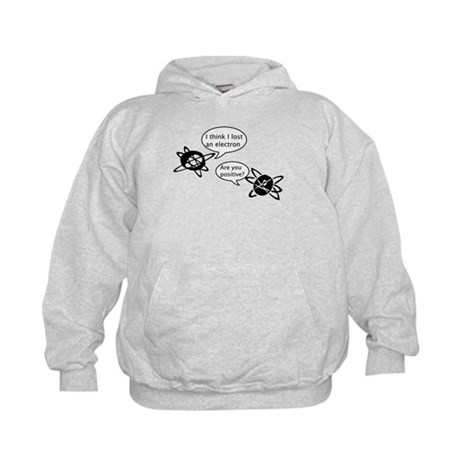 Atoms & Electrons Kids Hoodie