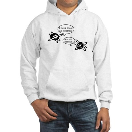 Atoms & Electrons Hooded Sweatshirt