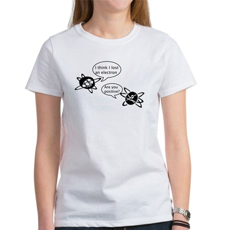 Atoms & Electrons Women's T-Shirt