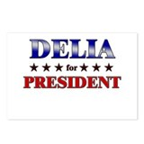 DELIA for president Postcards (Package of 8)