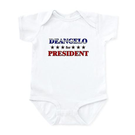 DEANGELO for president Infant Bodysuit