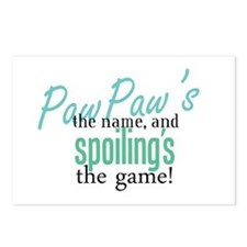 PawPaw's the Name! Postcards (Package of 8)