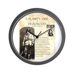 Calimity Jane Wall Clock