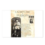 Calimity Jane Postcards (Package of 8)