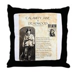 Calimity Jane Throw Pillow