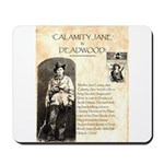 Calimity Jane Mousepad