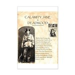 Calimity Jane Mini Poster Print