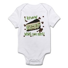 I Know What You Mint! Infant Bodysuit
