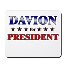DAVION for president Mousepad