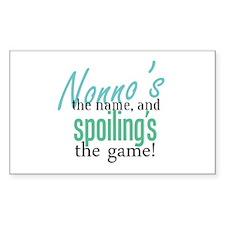 Nonno's the Name! Rectangle Stickers