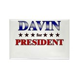 DAVIN for president Rectangle Magnet (10 pack)