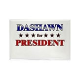 DASHAWN for president Rectangle Magnet