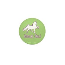 Rack On! Green Mini Button (100 pack)