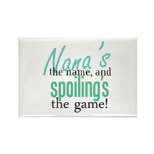 Nana's the Name! Rectangle Magnet