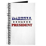 DARRELL for president Journal