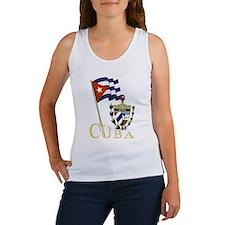 Women's Cuba Logo Tank Top